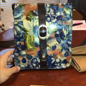 Patricia Nash Venezia Blue Clay Floral